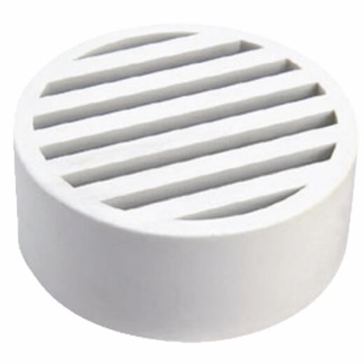 NDS 3 In. White Styrene Deck Drain