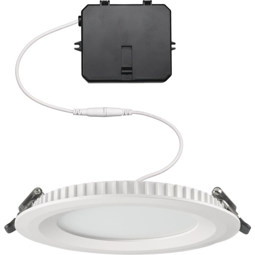 ETi Solid State Lighting Color Preference 5 In. New Construction/Remodel IC Rated White Edgelit Recessed Light Kit
