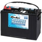 Deka Marine Master 12-Volt 600 CCA Deep Cycle/Starting Marine/RV Battery, Left Front Positive Terminal Image 1