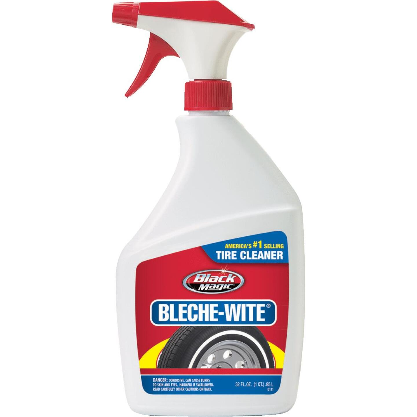 Black Magic Bleche-wite 32 oz Trigger Spray Tire Cleaner Image 1