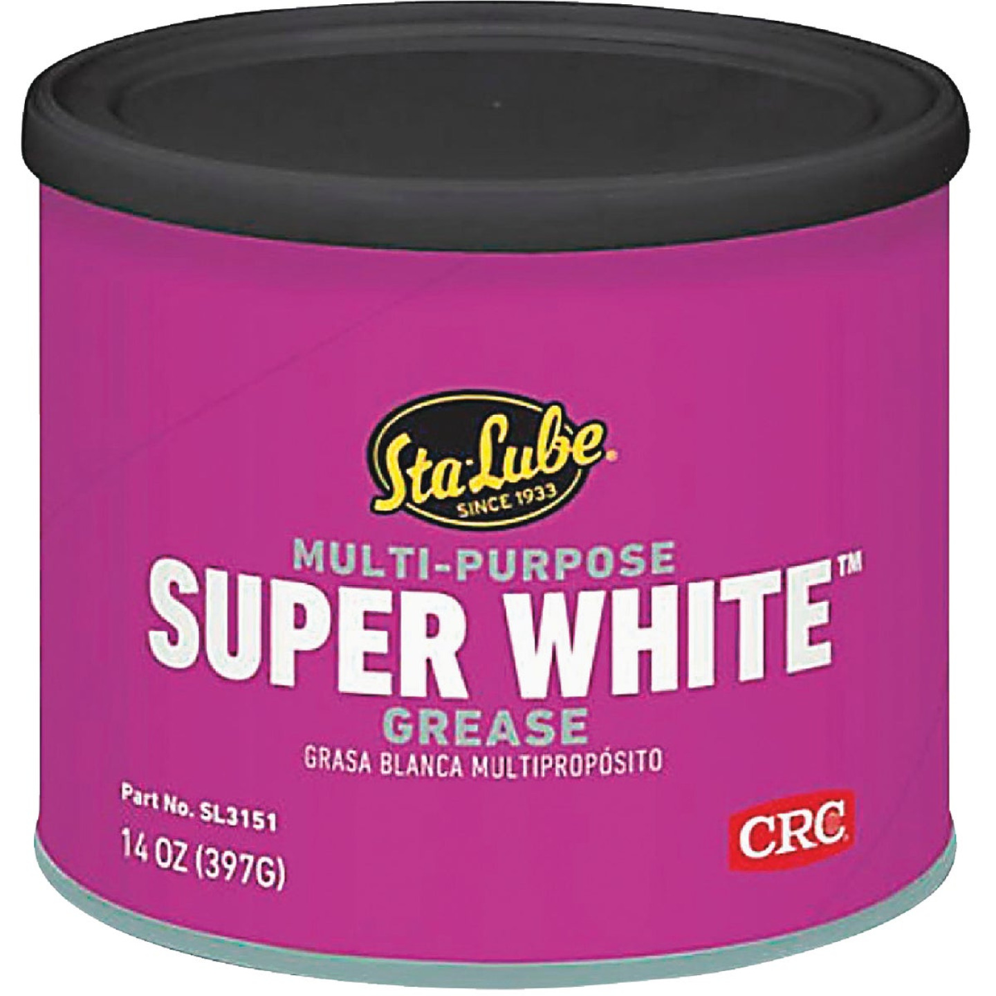 LubriMatic 1 Lb. Can White Lithium Grease Image 1