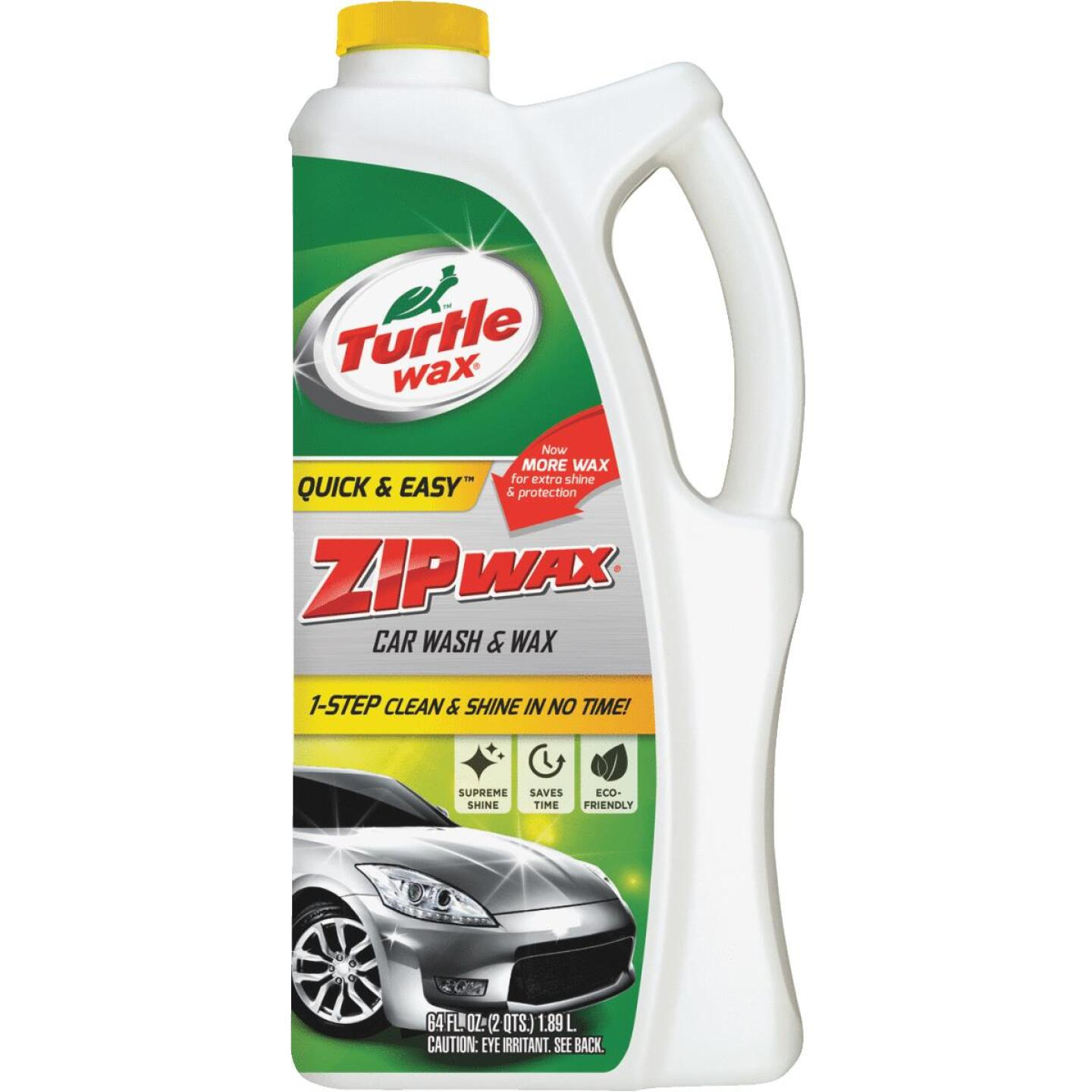Turtle Wax Zip Wax 64 Oz. Liquid Car Wash & Wax Image 1