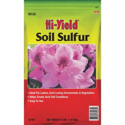 Hi-Yield 4 Lb. 400 Ft. Coverage Soil Sulfur