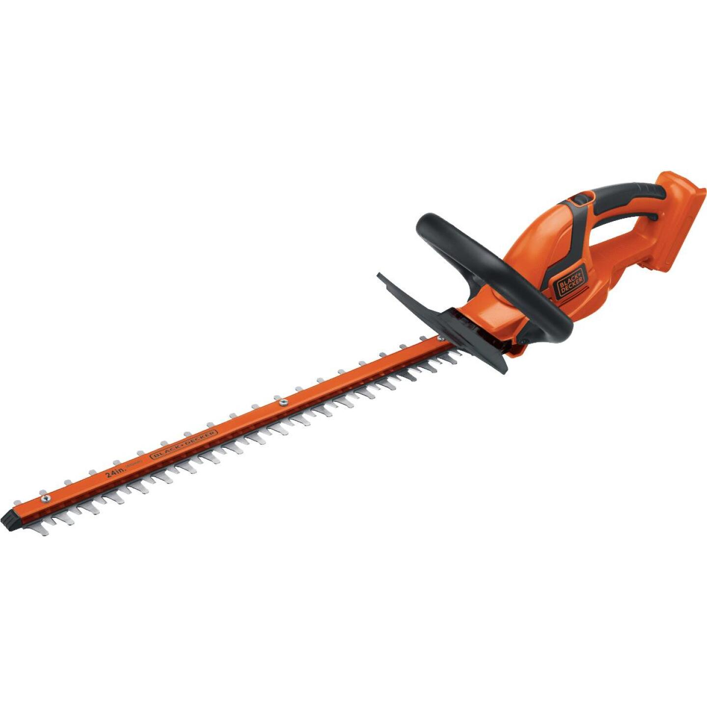 Black & Decker 24 In. 40V Lithium Ion Cordless Hedge Trimmer Image 1