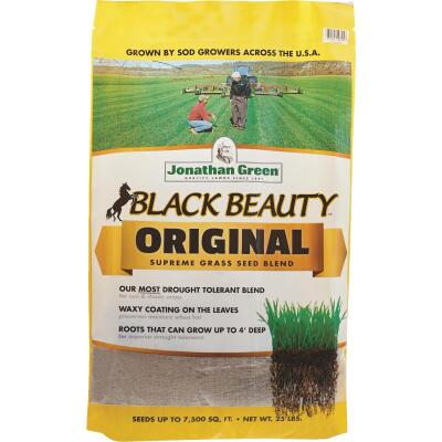 Jonathan Green Black Beauty 25 Lb. 3750 Sq. Ft. Coverage 100% Tall Fescue Grass Seed