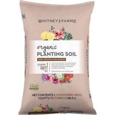 Whitney Farms 1 Cu. Ft. 31 Lb. All Purpose Organic Garden Soil