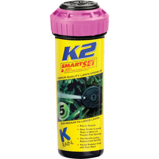 K Rain K2 5 In. 40 Deg. to 360 Deg. Sprinkler Pop-Up Head