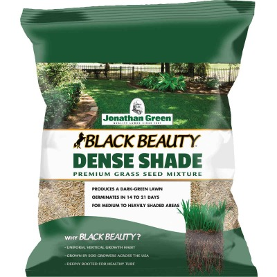 Jonathan Green Black Beauty 3 Lb. 900 Sq. Ft. Coverage Dense Shade Grass Seed