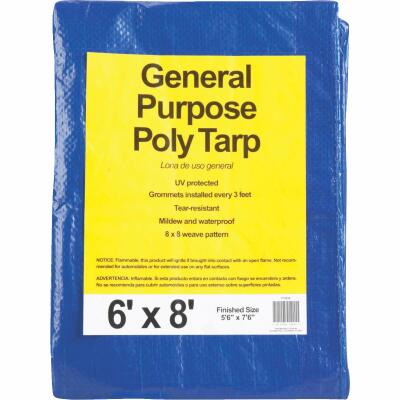 Do it Blue Woven 6 Ft. x 8 Ft. General Purpose Tarp