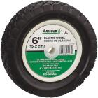 Arnold 6 In. Diamond Tread Offset Hub Wheel Image 1