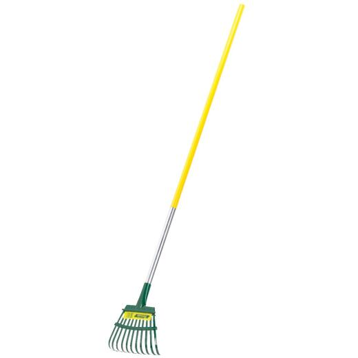 Flexrake 8 In. Steel Shrub Rake (11-Tine)