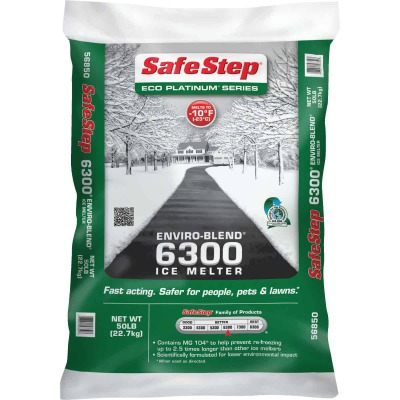 Safe Step Enviro-Blend 6300 50 Lb. Ice Melt Pellets