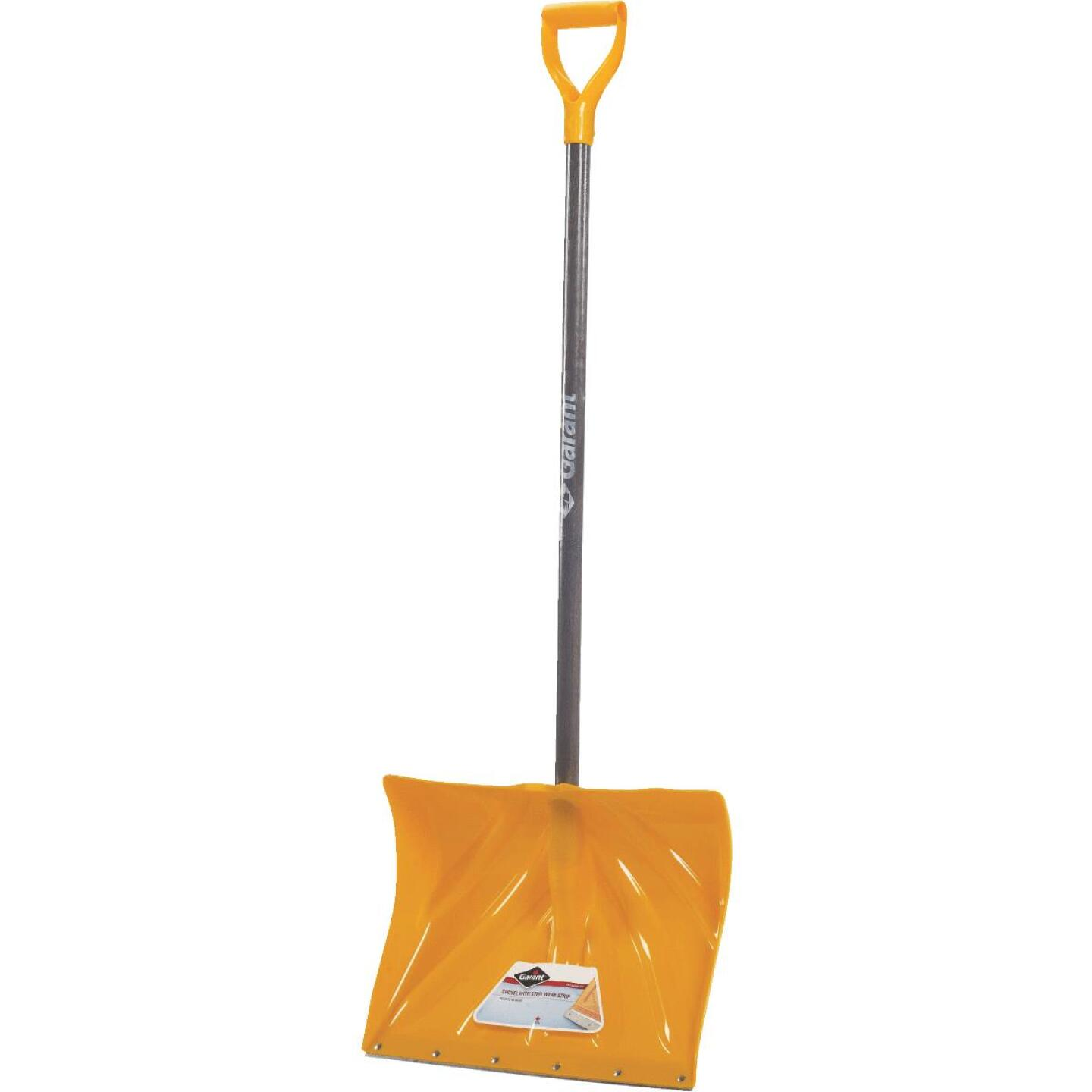 Garant Alpine 18 In. Poly Snow Shovel with 42.25 In. Wood Handle Image 1