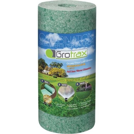 Gro Trax Quick-Fix 50 Sq. Ft. Coverage Bermuda/Rye Mixture Grass Seed Roll