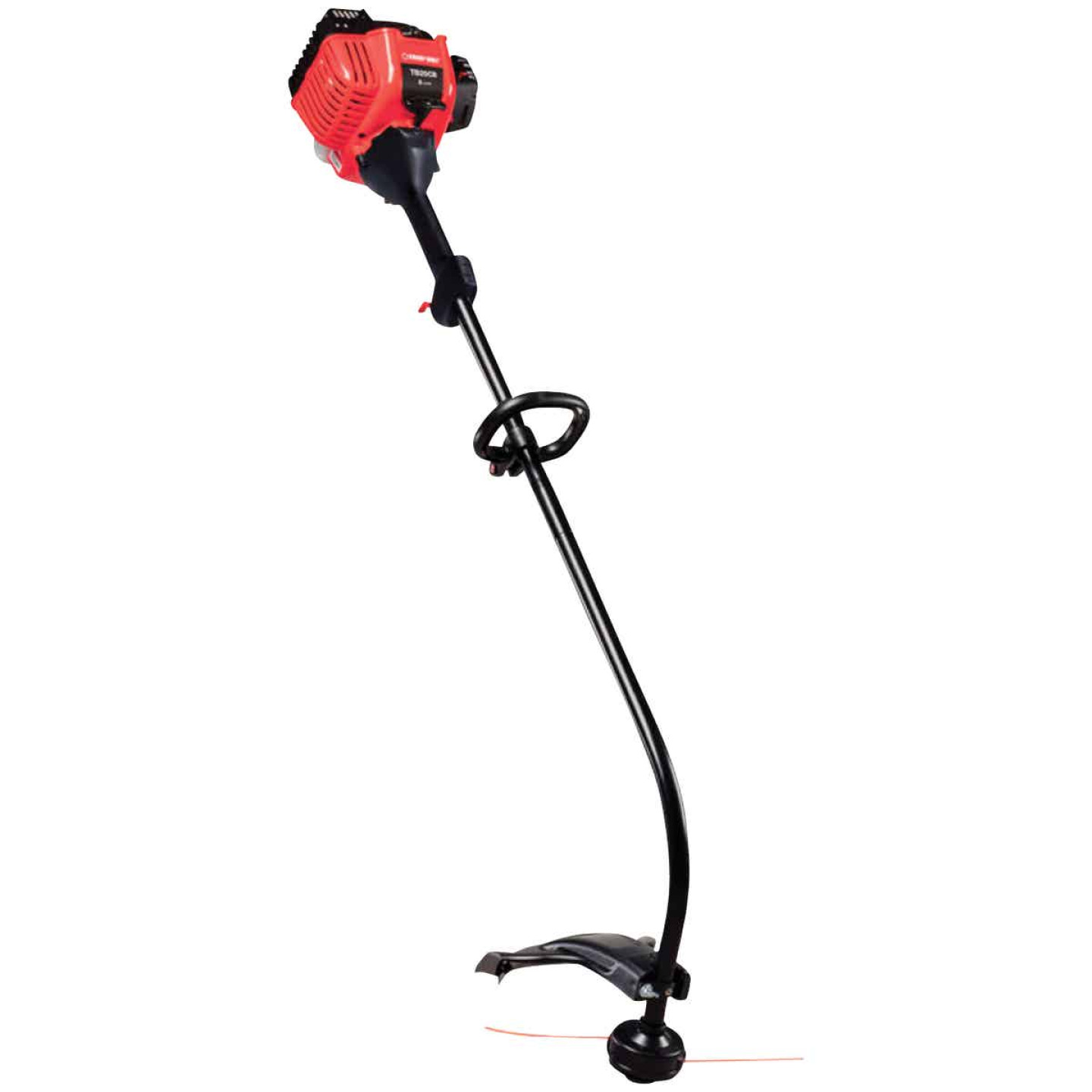 Troy-Bilt TB25CB 25cc 2-Cycle 16 In. Curved Shaft Gas Trimmer Image 1