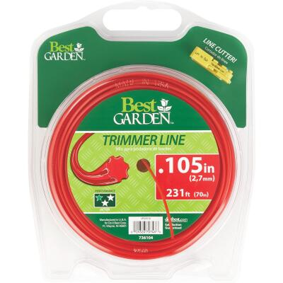 Best Garden 0.105 In. x 231 Ft. 7-Point Trimmer Line
