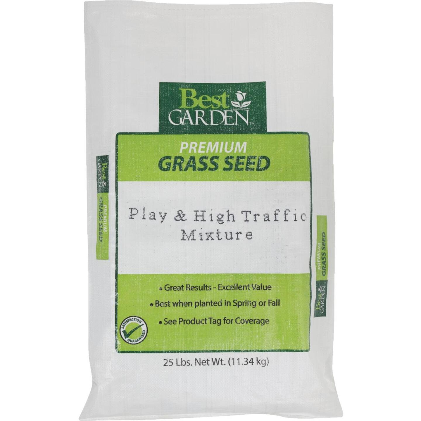 Best Garden 25 Lb. 7500 Sq. Ft. Coverage High Traffic Grass Seed Image 1
