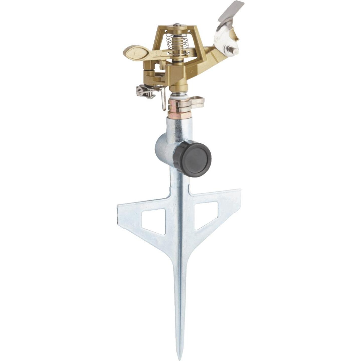 Best Garden Metal 5600 Sq. Ft. T-Spike Impulse Sprinkler Image 1