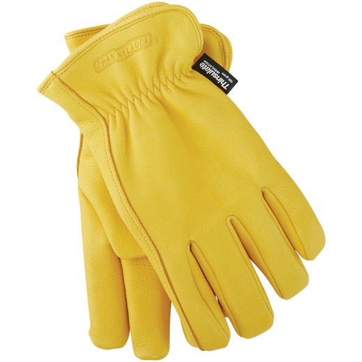 Channellock Men's XL Deerskin Winter Work Glove
