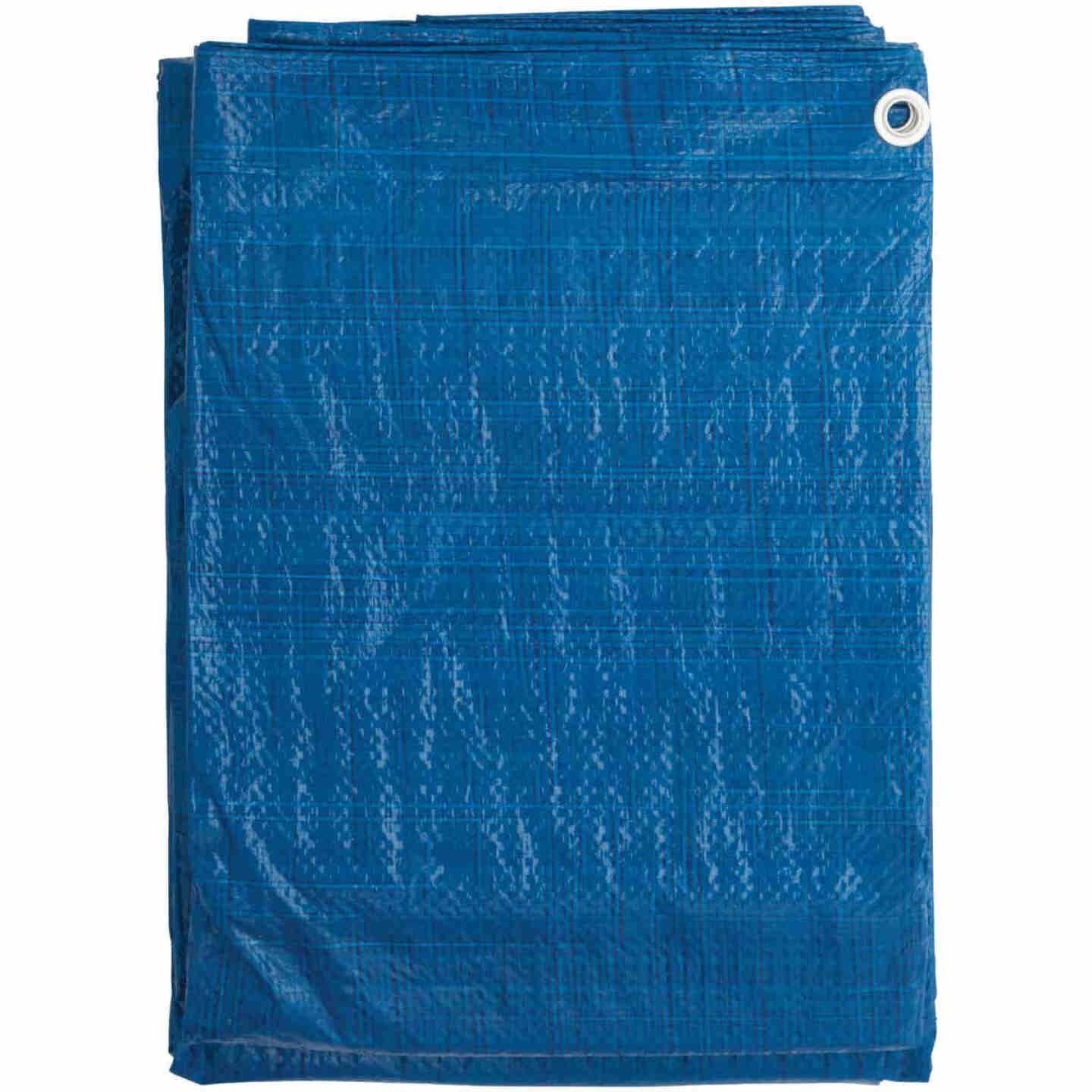 Do it Best Blue Woven 10 Ft. x 18 Ft. General Purpose Tarp Image 2