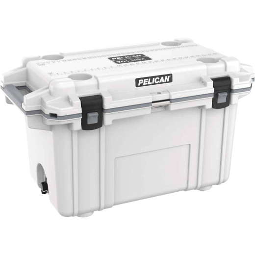 Pelican Elite 70-Qt. Cooler, White & Gray